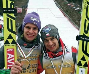 ski jumping, wellinger, and pania image