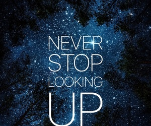 wallpaper, quotes, and stars image