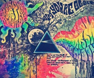 Pink Floyd, music, and rock image