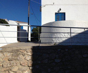 blue, greek islands, and spetses image