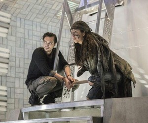 richard harmon, john murphy, and the 100 image