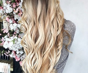 blond and hair style image