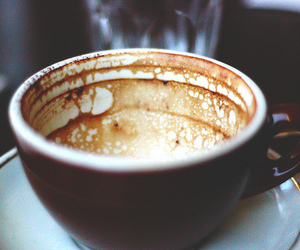 coffee, vintage, and cup image