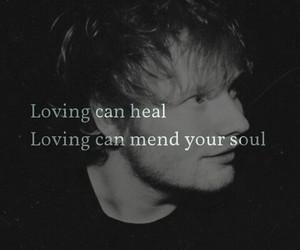 Lyrics, photograph, and ed sheeran image