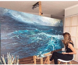amazing, artist, and painting image