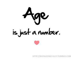 age, number, and text image