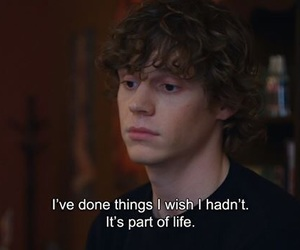 quotes, evan peters, and life image