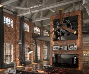 appartment and industrial image