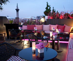 party, pretty, and rooftop image