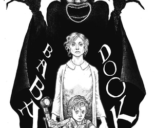dark, horror, and the babadook image