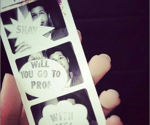 Prom, prom proposal, and cute image