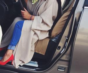 heels, hijab, and muslim image