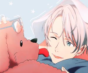 yuri on ice, anime, and victor nikiforov image