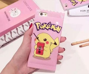pink, pokemon, and pikachu image