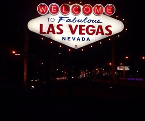Las Vegas, Nevada, and sign image