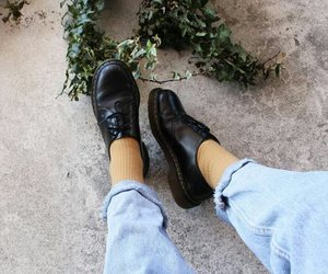 aesthetic, jeans, and shoes image