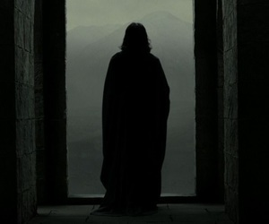 harry potter, severus snape, and alan rickman image