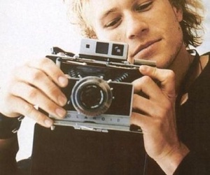 heath ledger, camera, and actor image