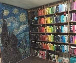 books, colorful, and youtuber image