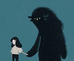 monster, art, and illustration image