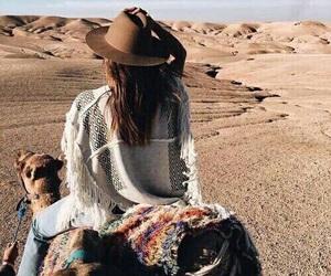 travel, desert, and adventure image