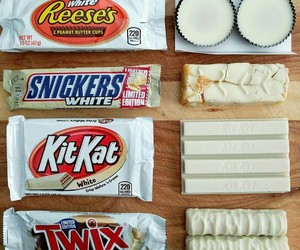 chocolate, kit kat, and reeses image