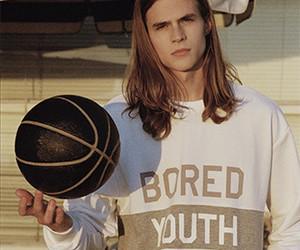 guys, long hair, and model image