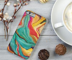 abstract, colorful, and cute phone case image