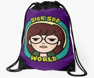 bag, Daria, and mtv image