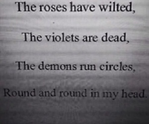 demons, sad, and quotes image
