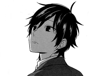 boy, manga, and horimiya image