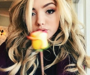 peyton list, flowers, and blonde image