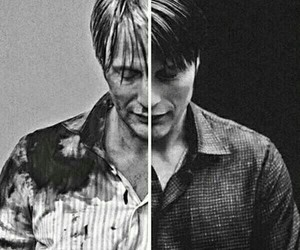 hannibal, mads mikkelsen, and hannibal lecter image