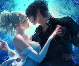 anime and final fantasy xv image