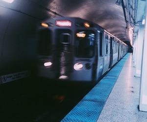 train, grunge, and tumblr image