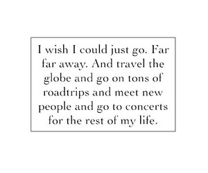 travel, quote, and life image