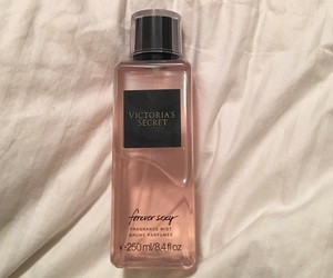 girl, perfume, and pink image