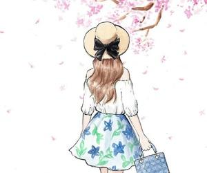 boho, drawing, and fashion image