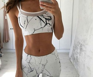 fitness, style, and outfit image