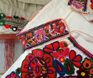 embroidery, folklor, and love image