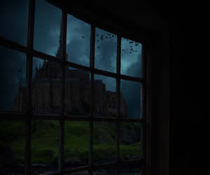 castle, Darkness, and photoshop image
