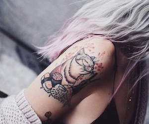 background and tattoo image