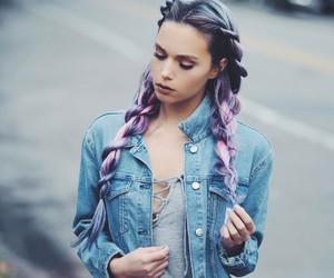 nails, photogrid, and hair image