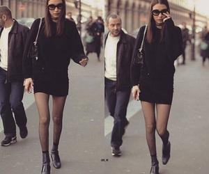 babe, bella, and black dress image