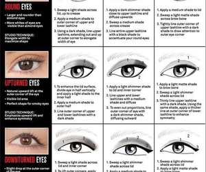 makeup, eyes, and tips image