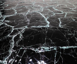 ice and black image