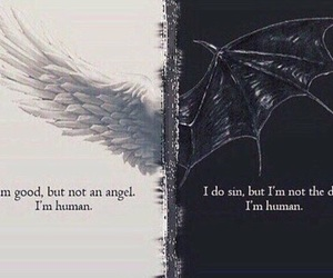 angel, Devil, and human image