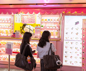 crepes, japan, and pink image
