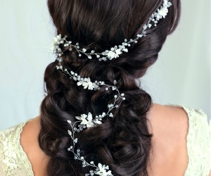 accessories, bridal, and romantic image