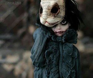 doll and horror image